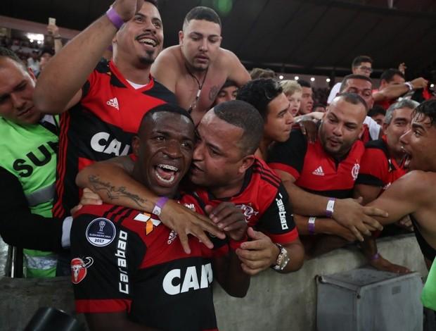 Vinicius Junior Flamengo x Fluminense Sul-Americana