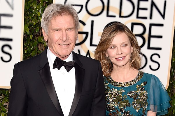Harrison Ford e Calista Flockhart (Foto: Getty Images)