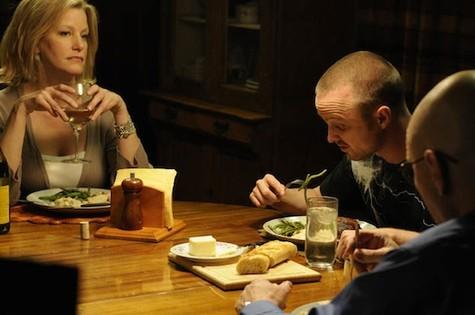 Skyler (Anna Gunn) e Jesse (Aaron Paul) (Foto: Reprodução da internet)