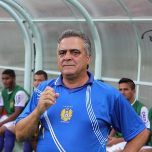 Vagner Benazzi técnico Nacional-AM (Foto: Matheus Castro)