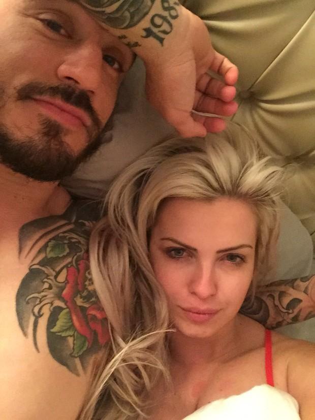 Ado Franco e Veridiana Freitas (Foto: Reprodução)