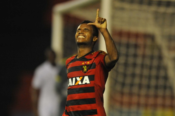 Sport x Sampaio gol Élber (Foto: Aldo Carneiro/Pernambuco Press)