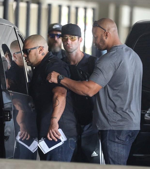 Adam Levine e banda (Foto: Agnews)