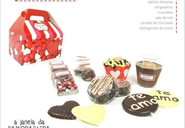 Itens do catálogo de Dia dos Namorados (Foto: Reprodução/Facebook)