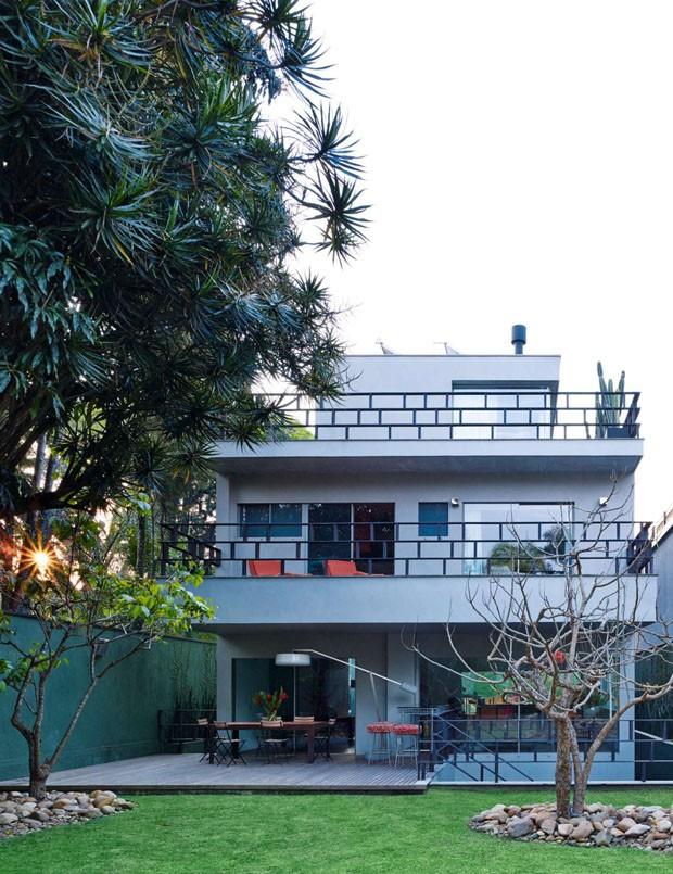cv72 casa zunino fachada posterior (Foto: Björn Wallander)