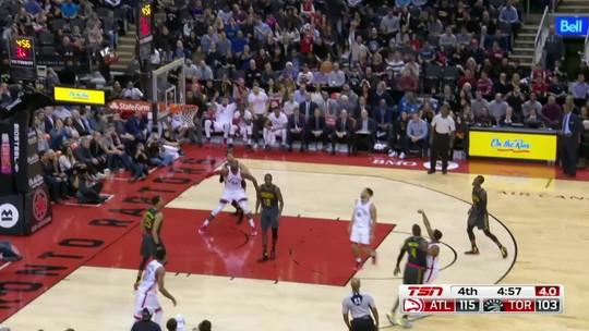 No embalo de Dwight Howard, Hawks superam Toronto Raptors fora de casa