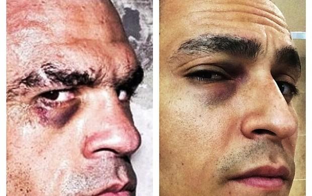MMA AQUÁTICO? (Reprodução Facebook)