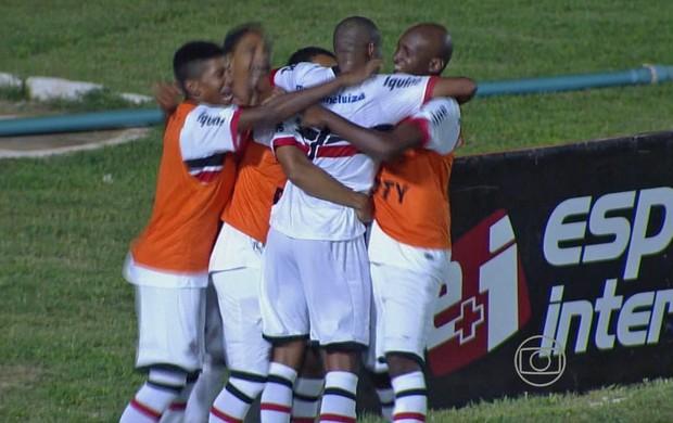 Guarany de Sobral x Santa Cruz (Foto: Reprodução/TV Globo)