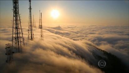 Nevoeiro encobre cidade do RJ e atrapalha pousos no Aeroporto Santos Dumont