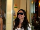 Ex-BBB Maria e Glória Pires circulam por aeroporto no Rio