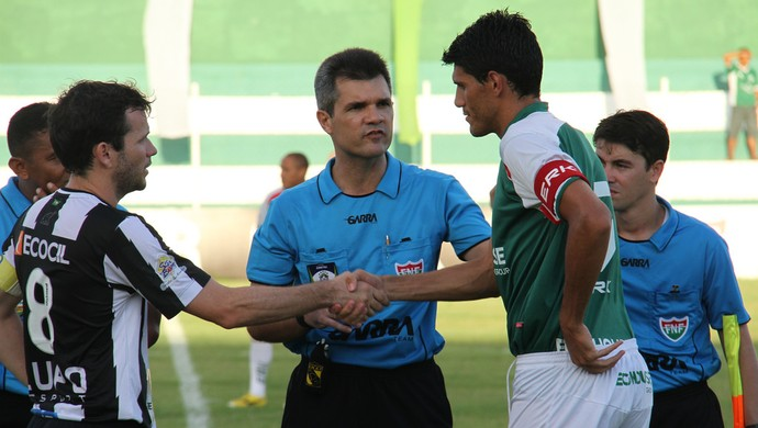 Ítalo Medeiros, árbitro potiguar (Foto: Canindé Pereira/Divulgação)