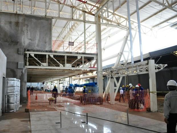 Obras no Marechal Rondon foram licitadas por R$ 77 milhões , o valor final deverá chegar a R$ 115 milhões, segundo Infraero. (Foto: Renê Dióz / G1)