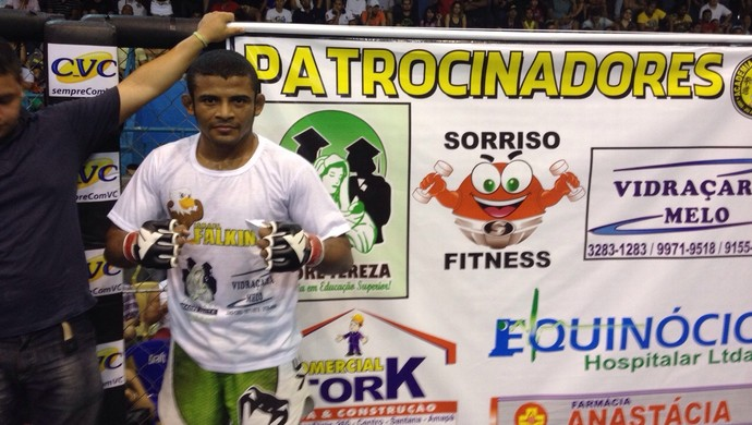 Falkinho, 28º Iron Man de MMA no Amapá (Foto: Rafael Moreira/GE-AP)