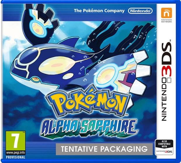 Caixa do game 'Pokémon Alpha Sapphire', remake de game de 2003 (Foto: Divulgação/Nintendo)