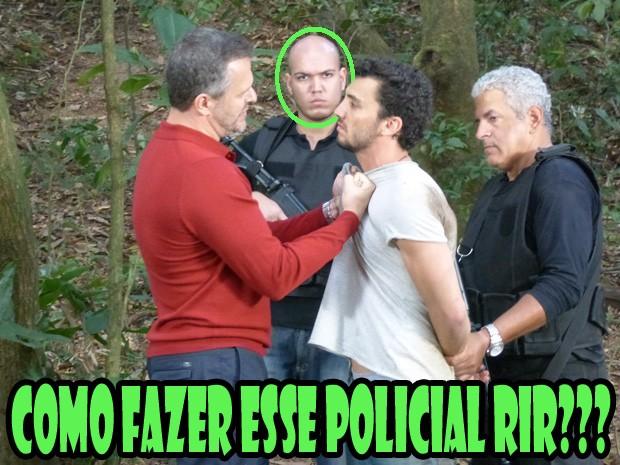 Policial (Foto: Malhação/ TV Globo)