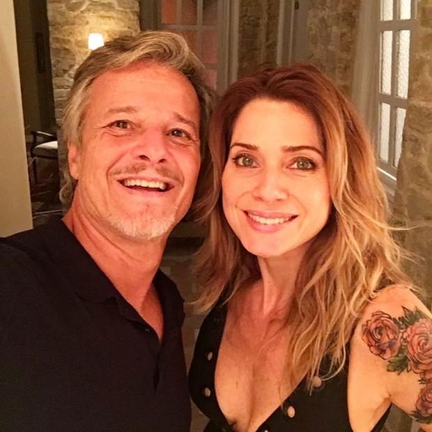 Marcelo Novaes e Letícia Spiller (Foto: Instagram / Reprodução)