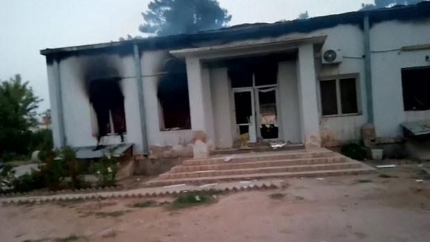 Um hospital da organização Médicos Sem Fronteiras foi atingido por ataques aéreos na cidade afegã de Kunduz (Foto: BBC)