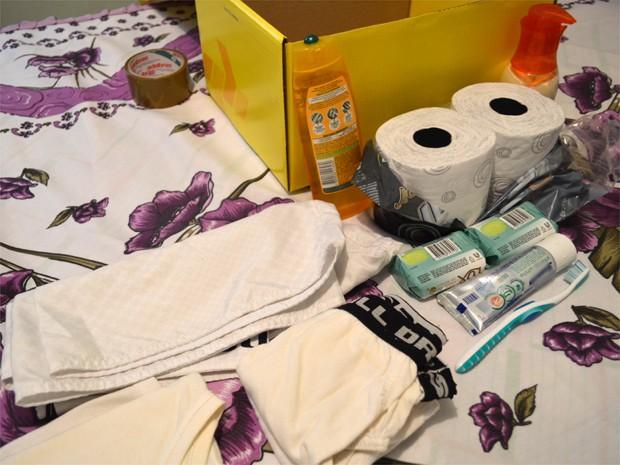 Gastos com a compra de produtos básicos de higiene afetam orçamentos das famílias (Foto: Eduardo Guidini/G1)