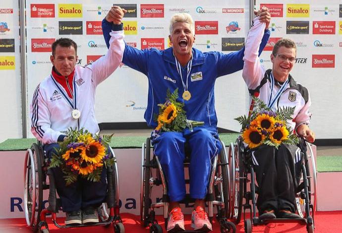 Fernando Fernandes conquistou o tetracampeonato no Mundial da Alemanha (Foto: Divulgação)