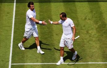 Em duelo equilibrado, Soares e Peya são eliminados nas quartas de final