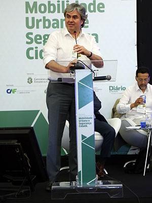 Haroldo Rodrigues Júnior, diretor da Diretoria de Pesquisa, Desenvolvimento e Inovação da Unifor, é organizador do evento (Foto: Ares Soares/Unifor)
