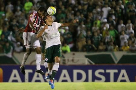Lúcio, zagueiro do Palmeiras (Foto: Rogério Moroti/Ag. Botafogo)