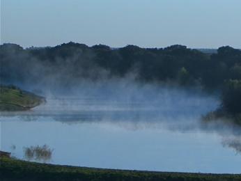 Imagens de frio em Uruguaiana, RS (Foto: Reprodução/RBS TV)