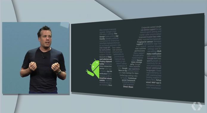 Google I/O apresenta mudanças no Android (Foto: Reprodução/Google)