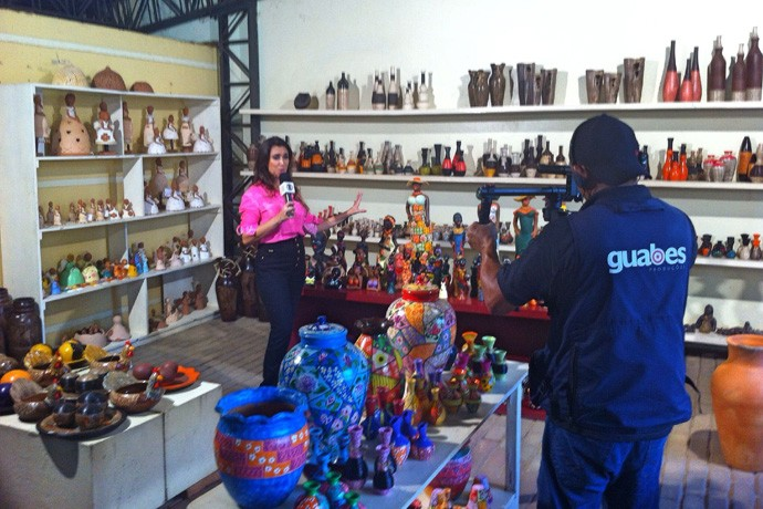 Apresentadora irá mostrar o melhor do artesanato piauiense (Foto: Rede Clube)