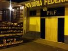 Carga de madeira é apreendida em Vilhena (PRF/ Divulgação)
