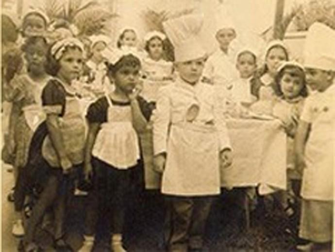 Jô Soares em seu aniversário de quatro anos (Foto: Arquivo pessoal)