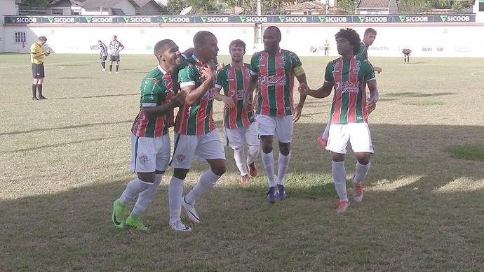 Rio Branco VN goleia o Castelo e segue na vice-liderança da Série B (Foto: Cid/Rio Branco FC)