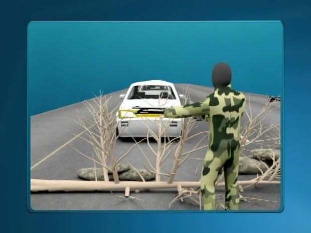 assalto br-365 rodovia crime (Foto: Reprodução/TV Integração)