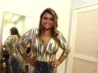 Preta Gil exibe silhueta mais fininha em show no Rio