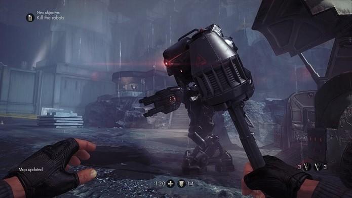 Matar robôs é complicado (Foto: Thiago Barros/Reprodução)