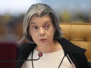 A presidente do TSE, ministra Cármen Lúcia (Foto: Carlos Humberto/STF )