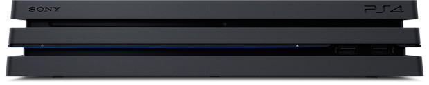 PS4 Pro é maior e mais pesado que o PS4 Slim, a versão fina do console da Sony (Foto: Divulgação/Sony)