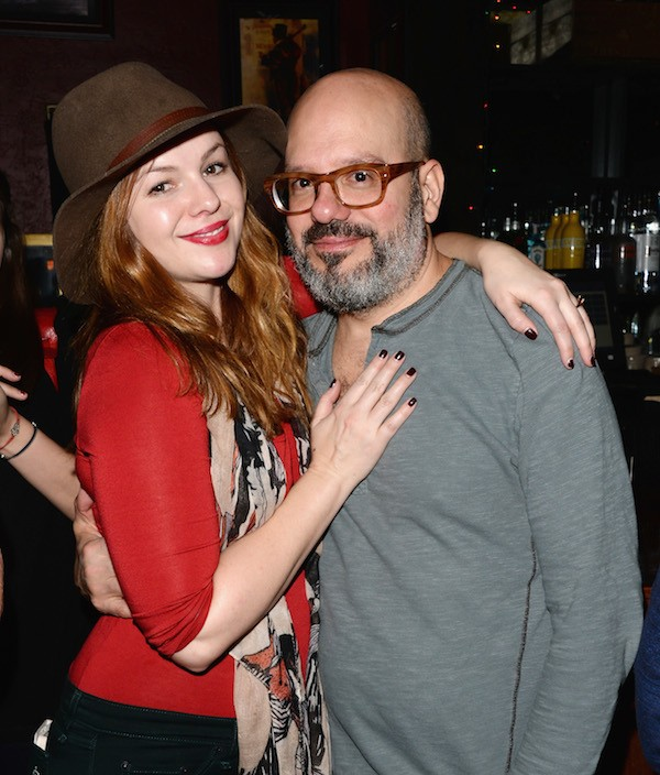 A atriz Amber Tamblyn e o marido, o ator David Cross (Foto: Getty Images)