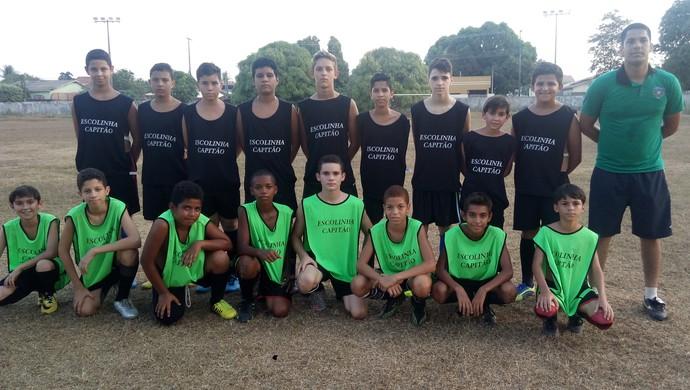 Atualmente o projeto conta com 46 meninos inscritos (Foto: Ana Cláudia Ferreira/GE)