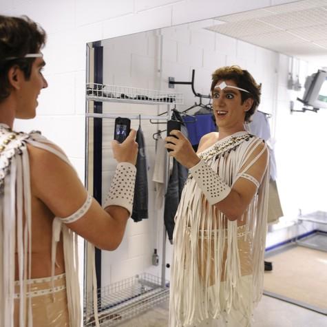 Marcelo Adnet como Ney Matogrosso (Foto: Estevam Avellar/ TV Globo)