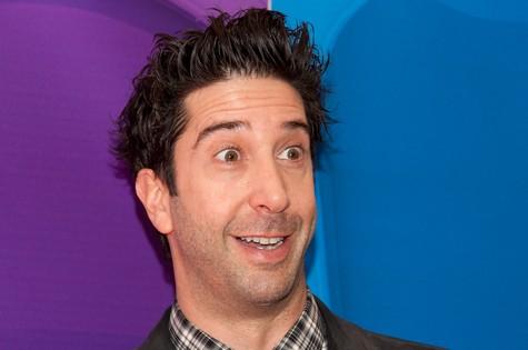 David Schwimmer, o Ross de 'Friends' (Foto: Reprodução da internet)
