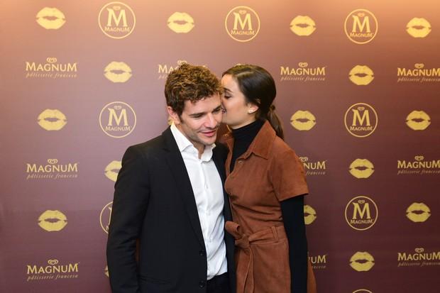 Sophie Charlotte e Daniel Oliveira (Foto: Leo Franco /AgNews)