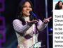 Toni Braxton é hospitalizada após show e cancela novas apresentações