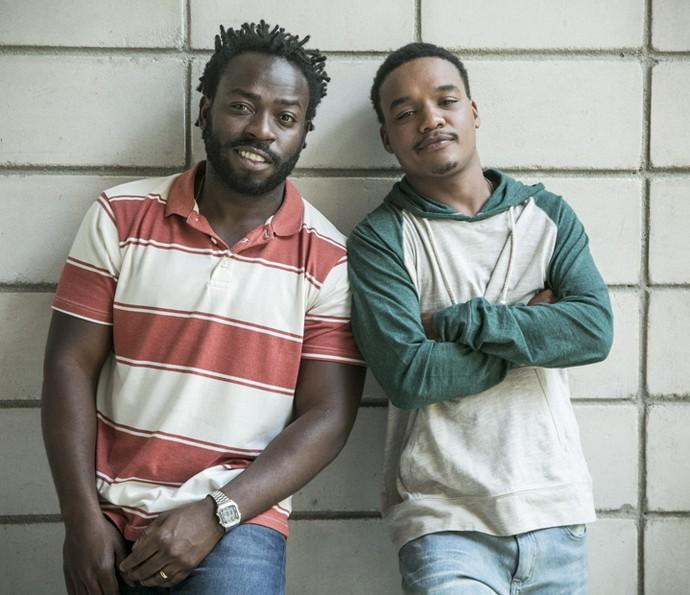 Douglas Silva e Darlan Cunha voltam a viver os personagens Acerola e Laranjinha em 'Cidade dos Homens' (Foto: Raphael Dias/ Gshow)