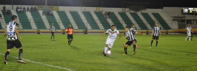 Sousa x Treze, no Marizão pela terceira rodada da segunda fase do estadual (Foto: Jéfferson Emmanuel / GloboEsporte.com/pb  )