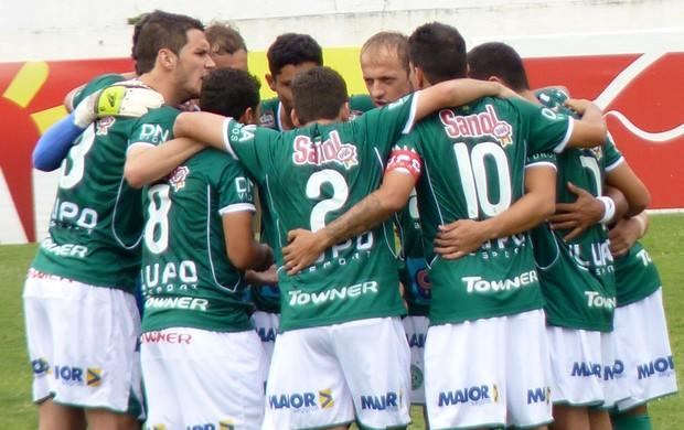 Guarani elenco Campeonato Paulista (Foto: Divulgação / Guarani)