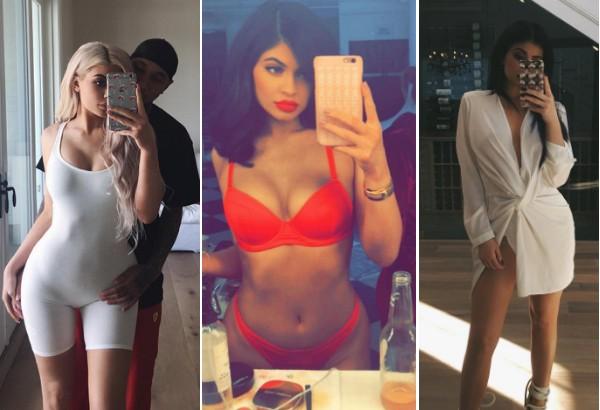 As selfies preferidadas de 2016 da celebridade Kylie Jenner (Foto: Instagram)