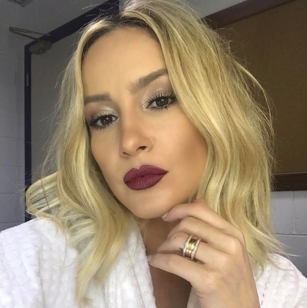 EGO - Claudia Leitte mostra make para a final do 'BBB 17 ...
