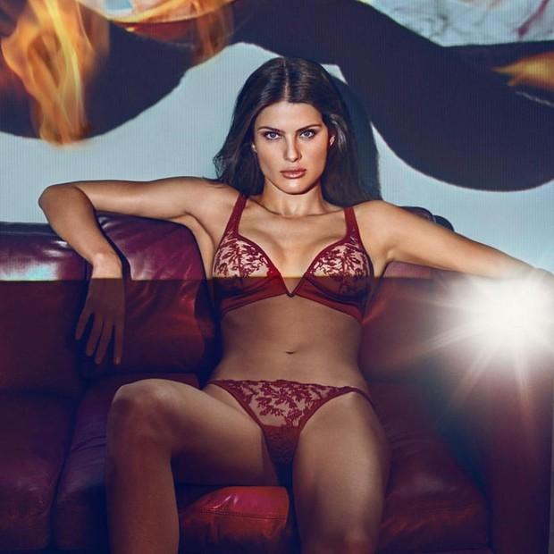 Isabeli Fontana em foto no Instagram (Foto: reprodução/Instagram)