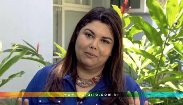 Fabiana Karla tem um recado para você  (Foto: Reprodução / TV Diário)